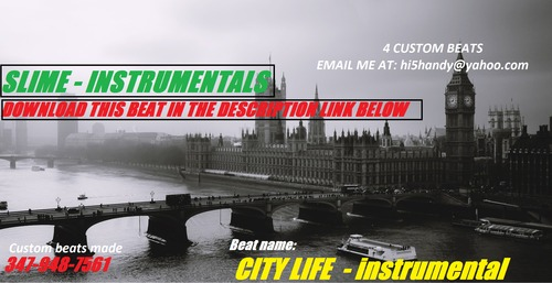 Product picture City Life - Hip Hop Instrumental By: Slime Beats
